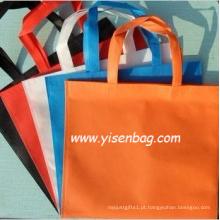 Fábrica por atacado saco de compra não tecido com logotipo personalizado (YSNB06-005)