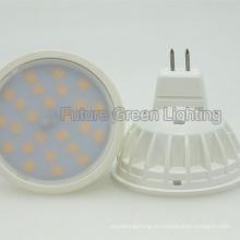 Горячая 5W 520lm светодиодная SMD лампа GU10 / MR16