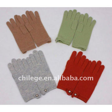 fashion women wool winter glove 2011