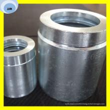 La virole de tuyau de SAE a adapté la partie hydraulique d'olive de sertissage