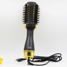 Elektrischer Haarglätter und Lockenwickler für die Haarbürste