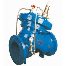 Válvula de sostenimiento de presión de agua tipo diafragma Ax742X / Ax107X