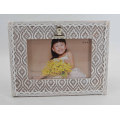 Beautiful Lace Wooden Photo Frame for Home Deco
