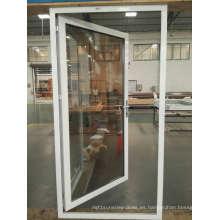 Precio de fábrica Mejor venta Puertas abatibles de aluminio / Puertas de vidrio / Puertas abatibles