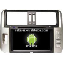 Usine directe! Android voiture lecteur dvd gps pour 2012 corolla Prado + android 4.1 + dual core + écran tactile capacitif + OEM