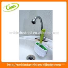 2014 Nuevo diseñado conveniente Cutlery limpiador / cepillo automatizado con el cepillo / el cepillo del fregadero
