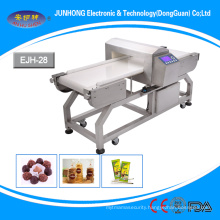 conveyor belt needle metal detector machine for gloves