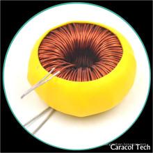 Inducteur 150uh de mode commun torique de fil de cuivre de T6X3X3 0.4mm avec des certifications de RoHs UL