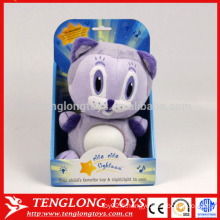 Fabricant animal LED peluche jouet chat
