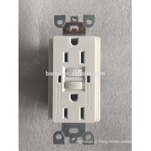 UL943 2015 15A Duplex Interrupteurs Circuit Interrupteurs Duplex - Blanc
