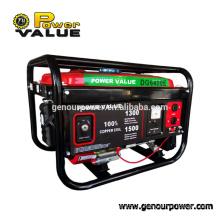 Power Value OEM 2000W Gasolin Generator Aluminum motor 5.5hp generator