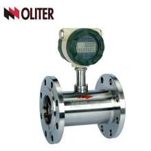 Medidor de flujo de agua de turbina líquida de aceite de pico de salida 4-20ma