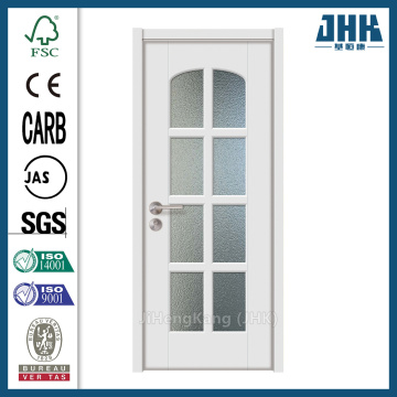 JHK Half Frosted Tempered Glass Folding Door