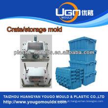 Molde plástico profissional da China, todos os tipos de moldes de caixas de garrafas
