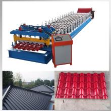 Glazed bamboo type metal tile manufacturing equipment