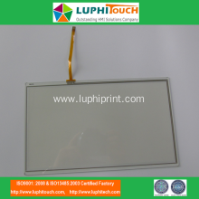 Waterproof Capacitive 4 Wires Resistive Touch Screen Panel