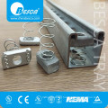 Hot Sale Better Price HDG Channel Nut With Spring Pieces