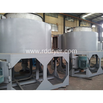 Spherical Silica drying machinery rotary flash dryer