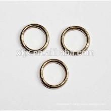 anneaux d'acier inoxydable