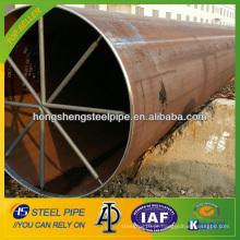 API 5L LSAW solda tubo de aço carbono