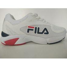 Men′s Classic White Mesh Comfort Running Shoes
