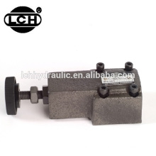 Trade Assurance hydraulic sandwich check flow control valve