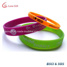 Printed Silicone Bracelet for Promotional Gift