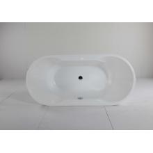Ovale Acryl Freistehende Einweichen Badewanne
