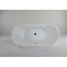 Oval Acrylic Freestanding Soaking Bathtub