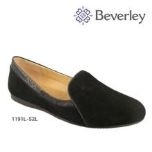 Primavera Outono Slip On Pumps Mulheres Preguiçosas Sapatos