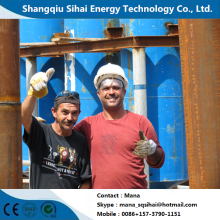 Recycling for tyre to high out pyrolysis machine