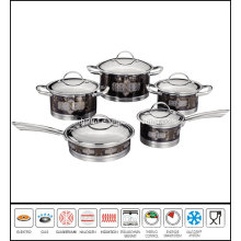 Decal Coasting Stainless Steel Cookware New Design