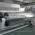 Película de PET Metallized a vacío / Película de PET recubierta de plata / Película de animal doméstico de 6 mic
