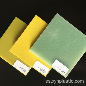 Yellow 3240 Epoxy Fiberglass Sheet / board en alta calidad