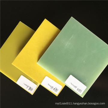 Yellow 3240 Epoxy Fiberglass Sheet/board in high quality
