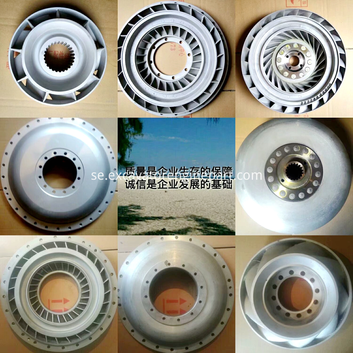 Shantui SD16 Bulldozer Parts YJ380 Torque Converter Spare Parts