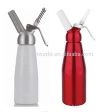 Chargeurs adaptés aux besoins du client de fouet de crème glacée de 1 litre avec le couvercle en métal + petit support de brosse et de becs