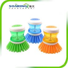 Cepillo de limpieza de cocina de plástico caliente de ventas