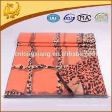 Precio de fábrica chino Jacquard de Pashmina y mantón de algodón viscosa cepillado con la borla para las señoras