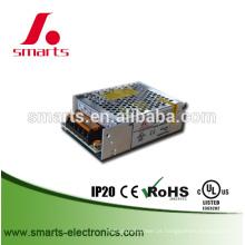 Fonte de alimentação de comutação 12v 72w com caixa de alumínio