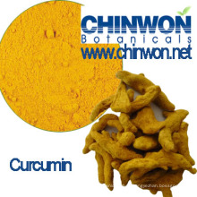 Pigment jaune Extrait de curcuma Curcumine 95%