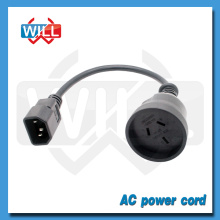 SAA 3-контактный штекер шнура питания переменного тока стандарта IEEE 802