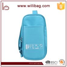 Sacos cosméticos da composição portátil do curso da forma com o saco do toalete do gancho