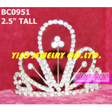 lovely best selling simple crystal crowns and tiaras