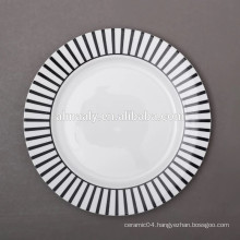 chinese ceramic plate,serving plate,modern dinner plate