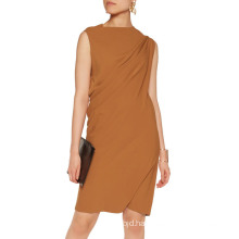 Ladies Maison Margiela Camel Office Dress
