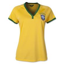 Brazil 2014 Women's Home Soccer Jersey Soccer Shirt