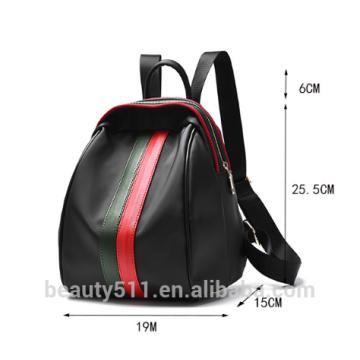 Lovely Ladies PU Leather Mochila Bolsas de hombro para uso diario HB78