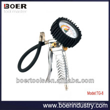 High Quality Air Tire Inflating Gun horizontal air gauge