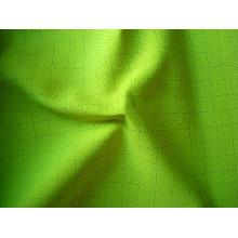 Tissu fonctionnel conducteur retardateur de feu modacrylique